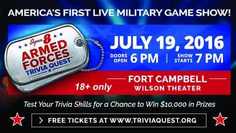 Super 8 Armed Forces Trivia Challenge
