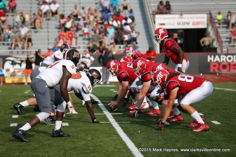 Austin Peay Football's first game is on the road September 3rd against Troy.
