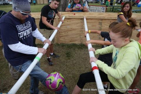 Riverfest Human Foosball Tournament