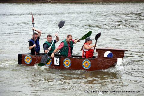 Riverfest Cardboard Boat Regatta