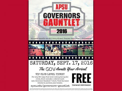 2016 APSU Governors Gauntlet