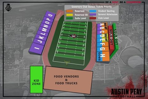 Austin Peay Football tickets are on sale now. (APSU Sports Information)