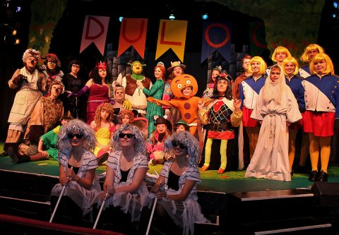 Roxy Regional School of the Arts production of Shrek The Musical Jr.