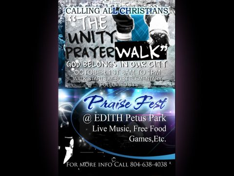 2016 Unity Prayer Walk & Praise Fest