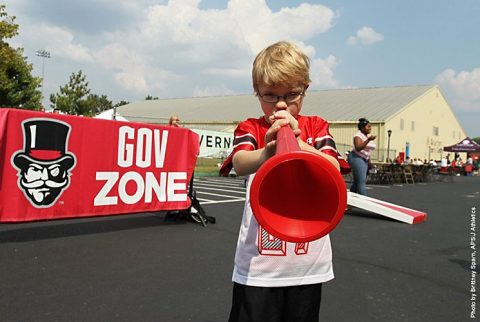 Austin Peay Football's Tailgate Alley returns this year with Kids area, food trucks, live music and more. (APSU Sports Information)