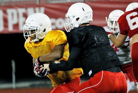Austin Peay Governors Football caps off preseason camp with Saturday afternoon scrimmage. (APSU Sports Information)