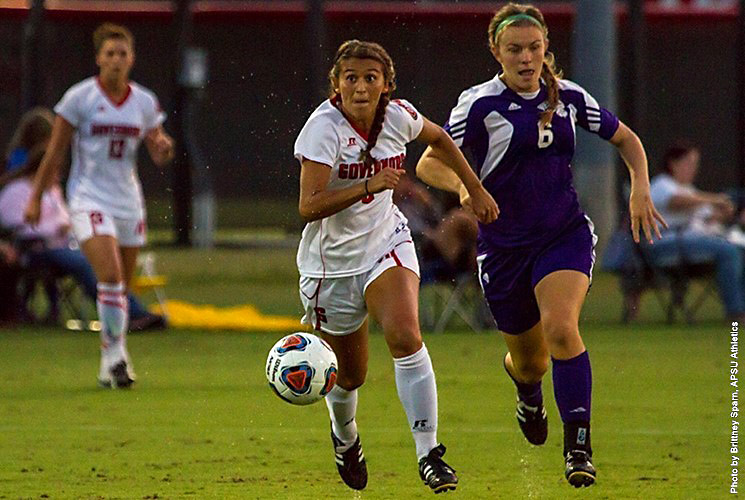 Austin Peay Soccer plays exhibition match at Georgia State Sunday, August 14th. (APSU Sports Information)