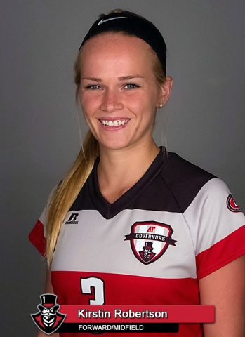 APSU Soccer - Kirstin Robertson