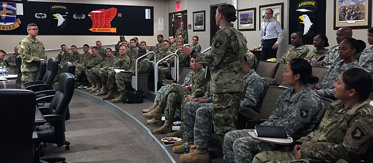 Army Human Resources Command Road Show visits Fort ...
