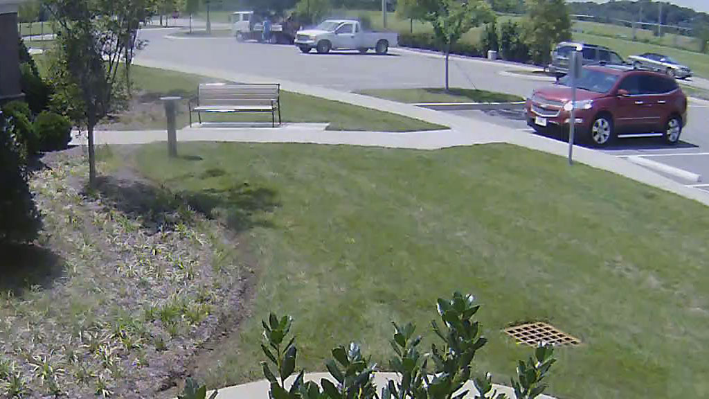 Clarksville police are looking for lawn care vehicle for Garden maintenance van