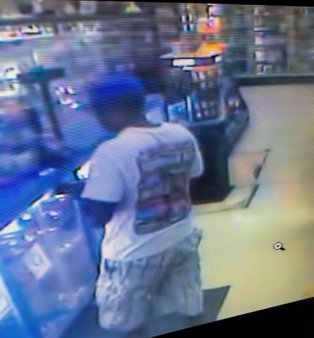 Clarksville Police request help Identifying the Robbery Suspect in this photo.