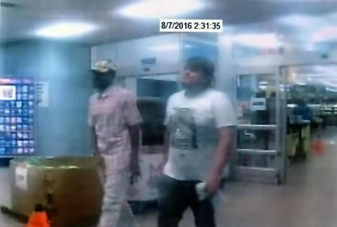 Clarksville Police are trying to identify the suspects in this photo. If anyone has any information, please call Detective Bartel at 931.648.0656 Ext 5144, or call the CrimeStoppers TIPS Hotline at 931.645.TIPS (8477).