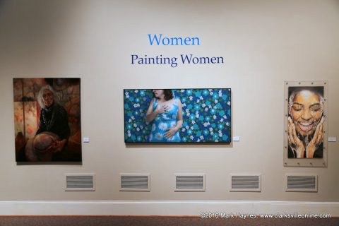 Women Painting Women will be on exhibit at the Customs House Museum and Cultural Center through October 23rd, 2016.