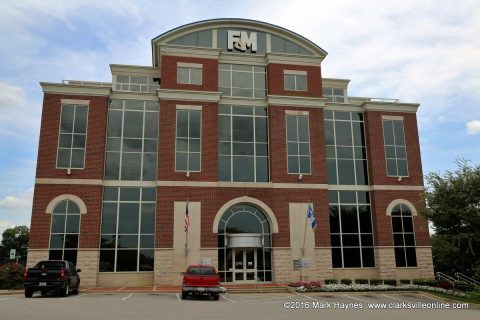 F&M Bank in Downtown Clarksville
