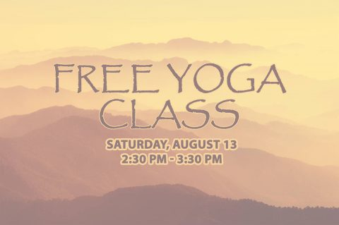 Free Yoga Class at Clarksville-Montgomery County Public Library this Saturday, August 13th