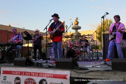 The Nightmasters playing Friday night at Jammin in the Alley.