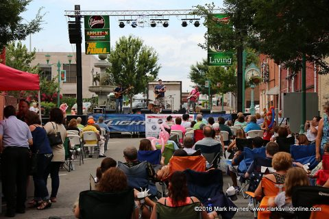 The last Jammin in the Alley for this year takes place this Friday, August 12th.
