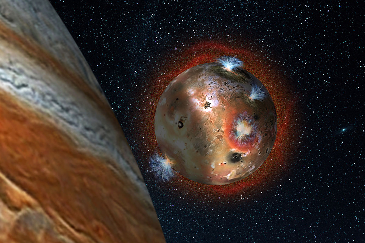 NASA research shows moon Io's atmosphere collapsing when ...