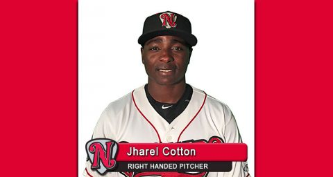Nashville Sounds' Pitcher Jharel Cotton Just Missed Perfect Game in Start Against Round Rock Express.