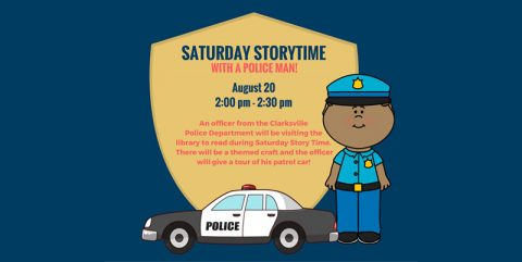 Saturday Story Time with a Police Officer