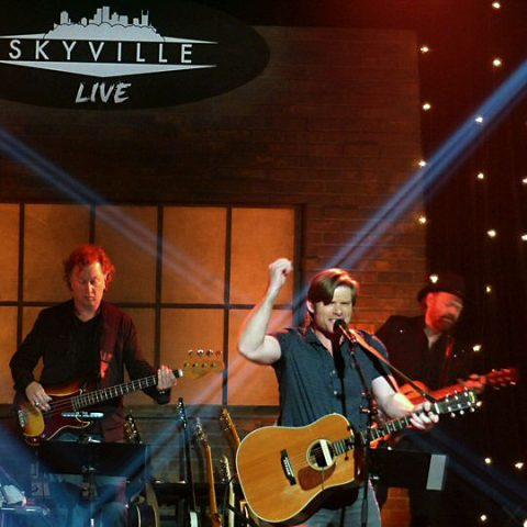 Chris Carmack rocked the Skyville Live stage in Nashville.