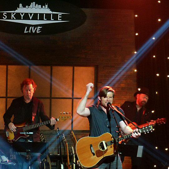 Chris Carmack rocked the Skyville Live stage in Nashville.