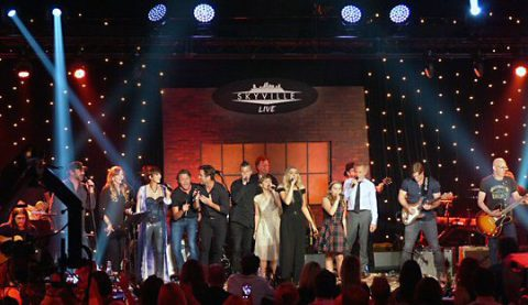 The Skyville Live All-Star Jam sent the audience home on a high note.