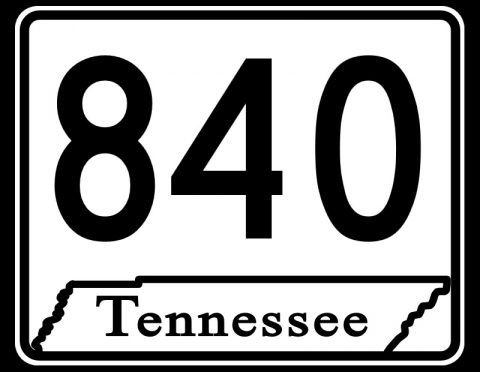Tennessee State Route 840 Now Designated as Interstate 840.