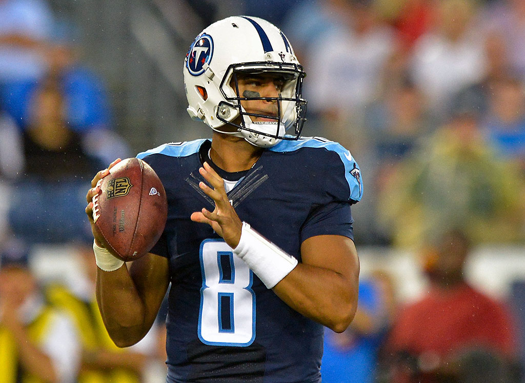 Tennessee Titans Face Carolina Panthers At Nissan Stadium