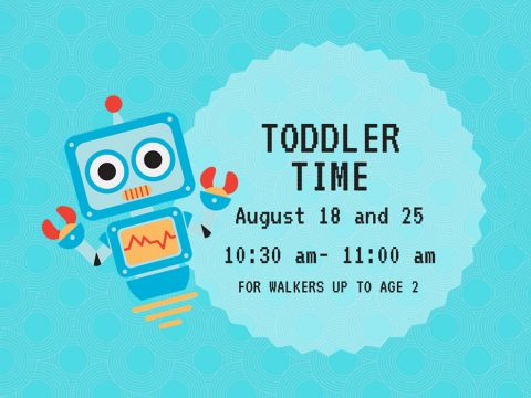 Toddler Time to be held at Clarksville-Montgomery County Public Library Thursday.