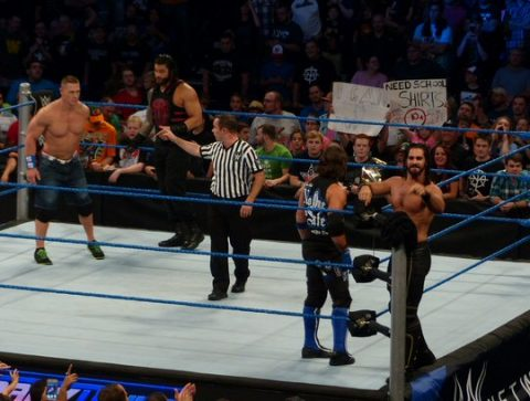 Another scene from SmackDown Live in Nashville in August 2016. (Rich Lynch)