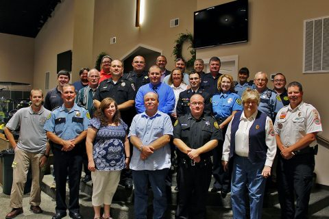 First Responder Appreciation Day held Sunday at Yellow Creek Baptist Church