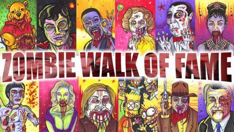 Zombie Walk of Fame Kickstarter