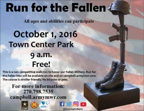 2016 Fort Campbell Run for the Fallen