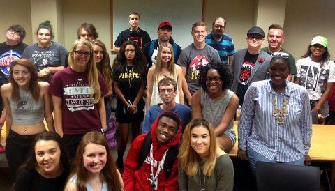 APSU Communication Department Students