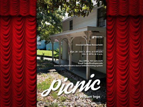 """""""Picnic"""" runs from September 28th-October 2nd at APSU."""