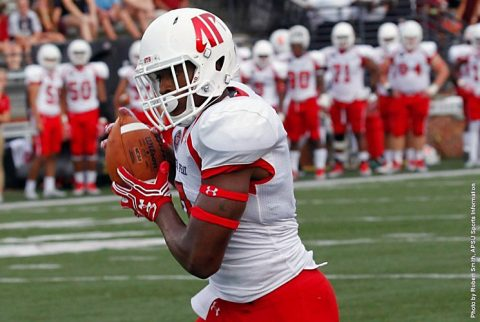 Austin Peay tight end James Coleman scored two touchdowns in Saturday's loss to Troy. (APSU Sports Information)