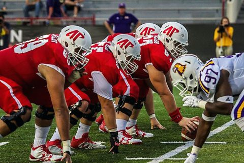 Austin Peay Football loses home opener to Tennessee Tech Saturday night. (APSU Sports Information)