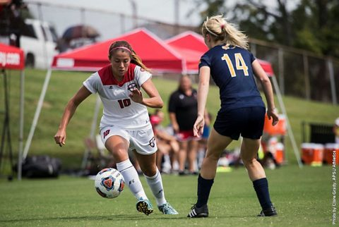 Austin Peay Soccer at Morehead State to start OVC Slate. (APSU Sports Information)