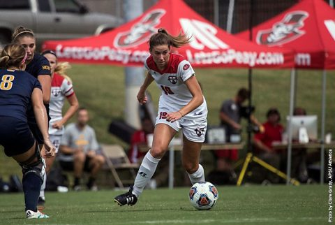 Austin Peay Soccer travels to UT Martin Friday then to Southeast Missouri Sunday. (APSU Sports Information)