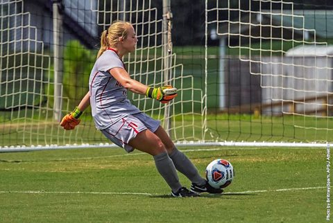 Austin Peay Soccer impressive in 1-0 shutout of Morehead State Thursday. (APSU Sports Information)