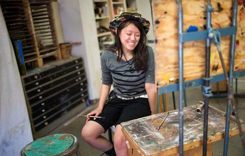 APSU student Nicole Santoyo