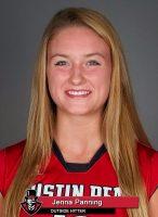APSU Volleyball - Jenna Panning