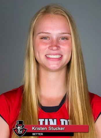 APSU Volleyball - Kristen Stucker