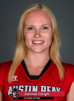 APSU Volleyball - Sammie Ebright