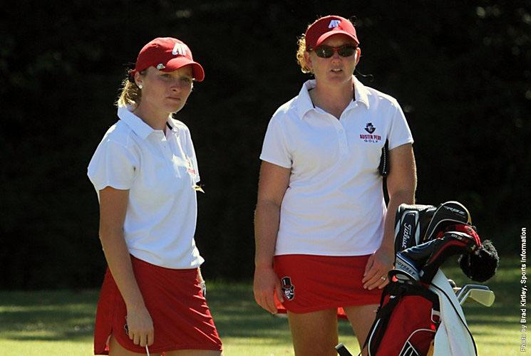 Taylor Goodley and Ashton Goodley lead APSU Women's Golf ...