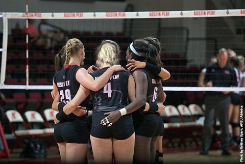 Austin Peay Volleyball drops four set match to Valparaiso Saturday at Trojan Invitational. (APSU Sports Information)