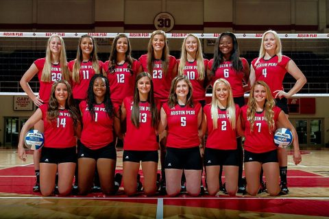 Austin Peay Women's Volleyball Team. (APSU Sports Information)