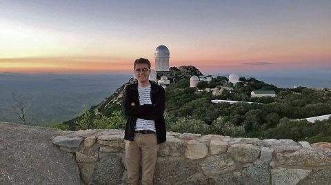 Austin Peay physics student Jacob Robertson