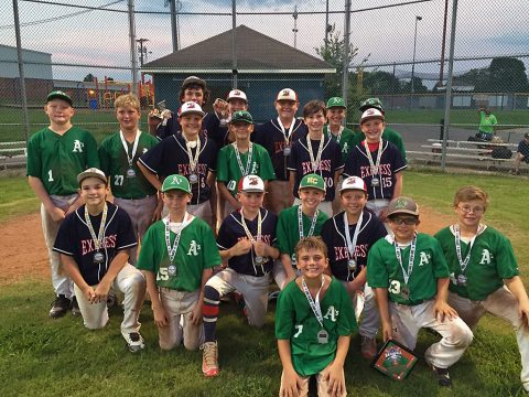 Tennessee Express wins 12U Tournament with Middle Tennessee Athletics coming in second aat Clarksville National Park.